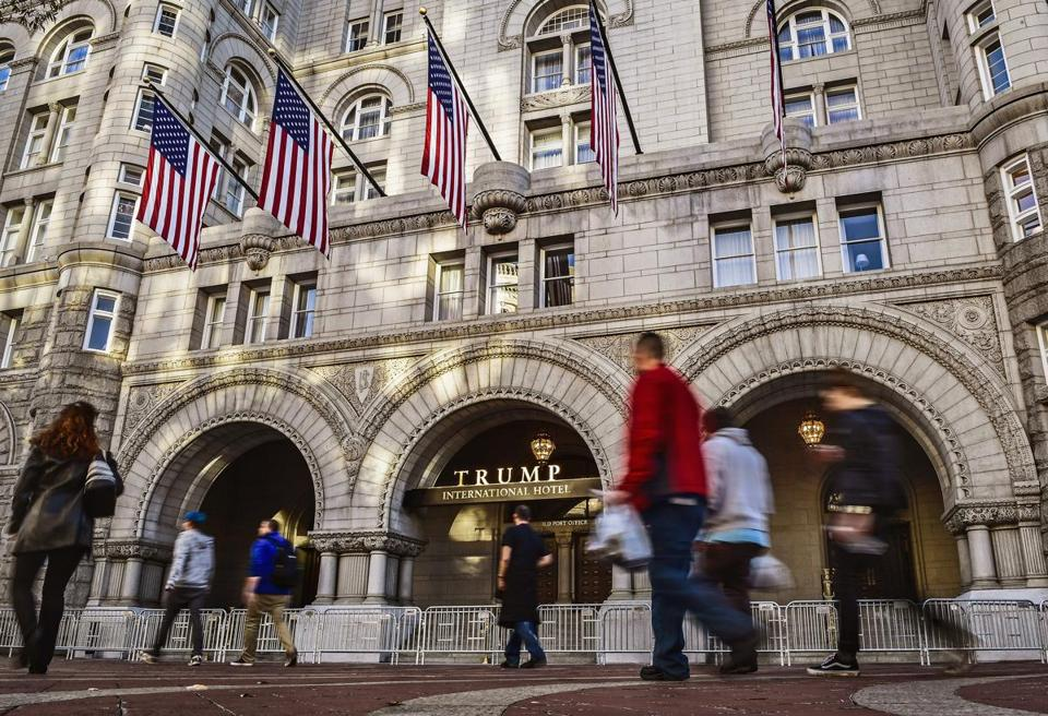 The Trump International Hotel In Washington D C Has Become A Kind Of White House