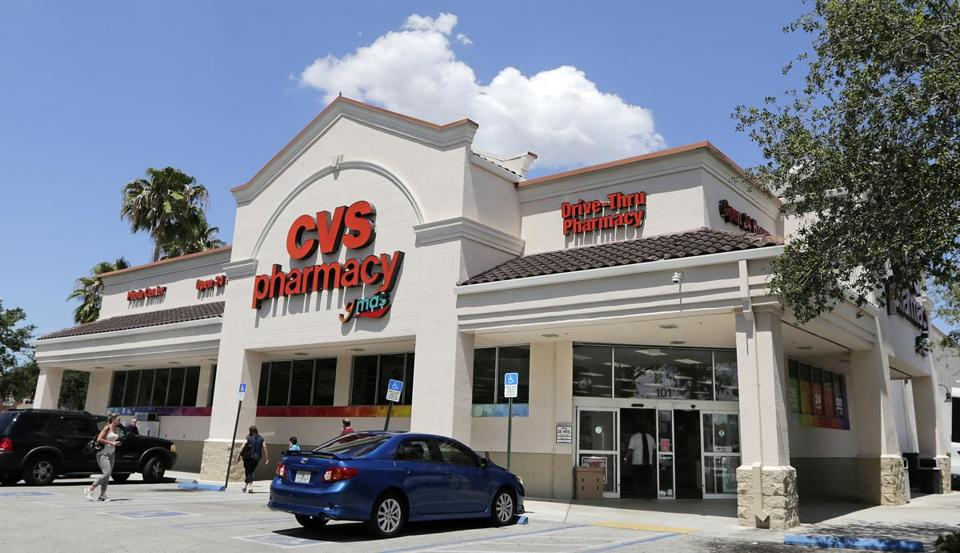 This Monday, May 15, 2017, photo, shows a CVS store in Hialeah, Fla. CVS Health reports earnings, Tuesday, Aug. 8, 2017. (AP Photo/Alan Diaz)