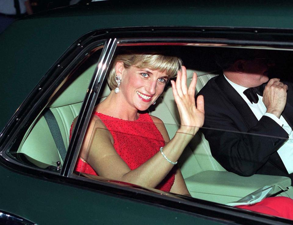 Princess Diana in Washington, D.C., in June 1997.