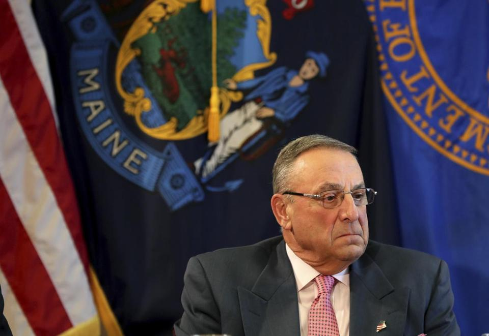 Governor Paul LePage of Maine.