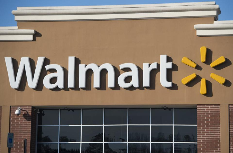 Walmart takes heat for back-to-school banner over gun display