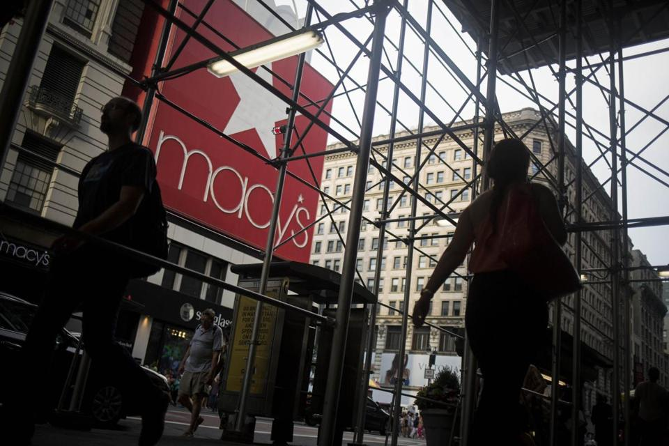 Macy's Inc. shares hit a seven-year low on Thursday.
