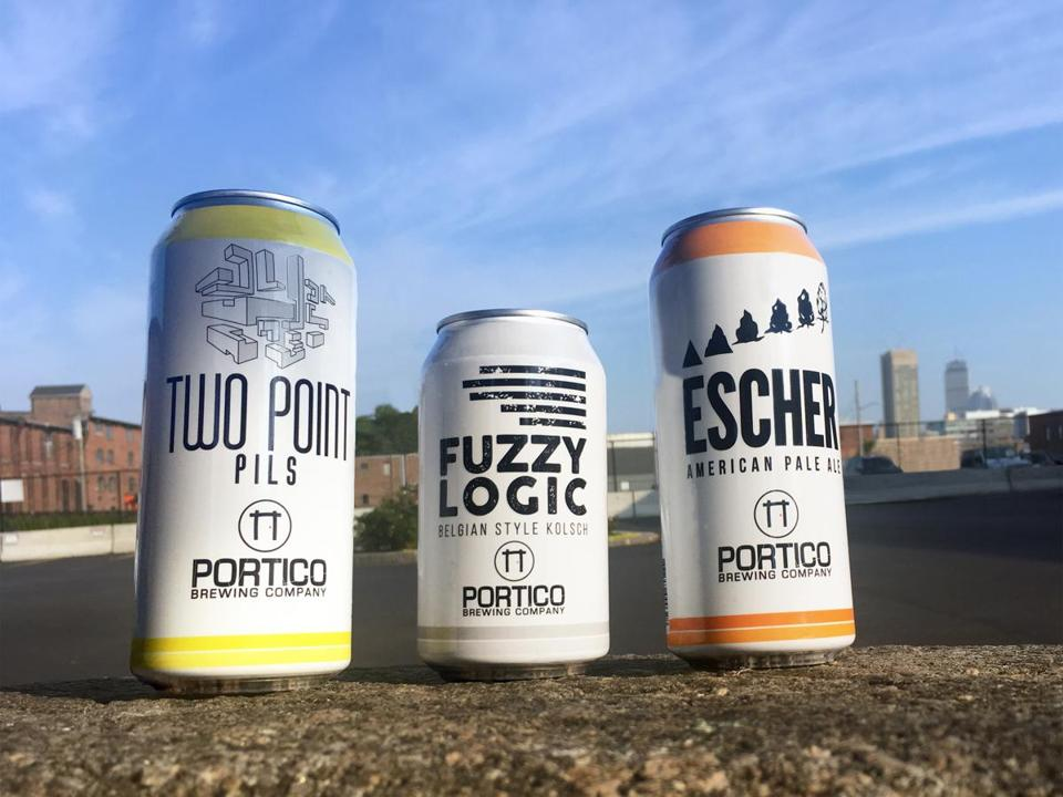 Two Point Pils is Portico Brewing Co.'s latest beer, Fuzzy Logic its longest-running, and Escher the name for an evolving pale ale series.