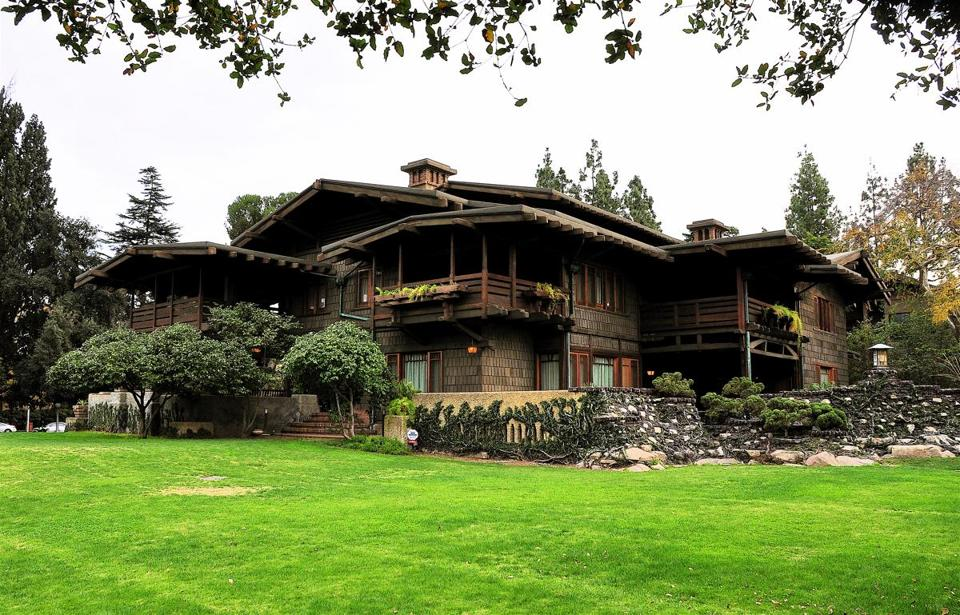 "Gamble House in Pasadena, Calif., was home of Doc Brown in ""Back to the Future."""