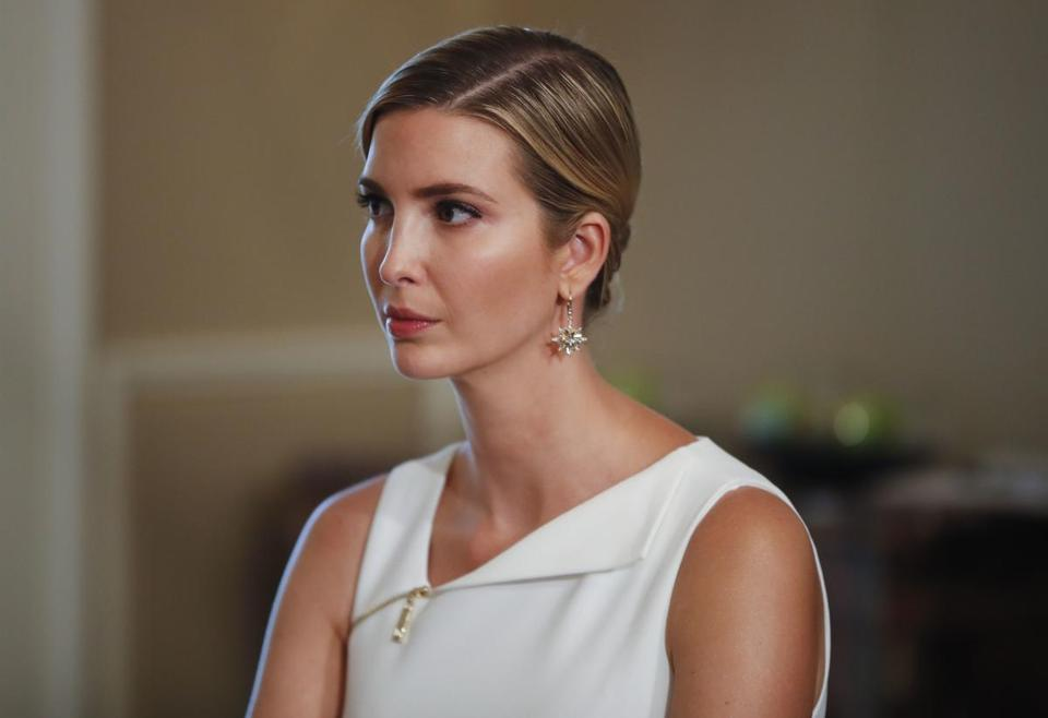 Ivanka Trump issued a separate denunciation of the extremist groups from her personal Twitter account.