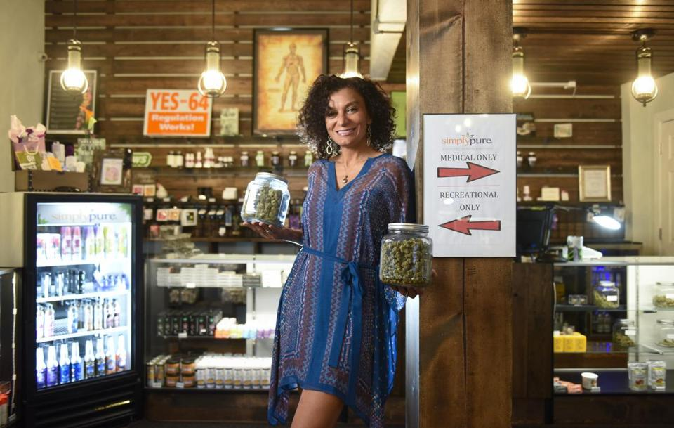 Wanda James's cultivation operation and dispensary, Simply Pure, is expanding next year.