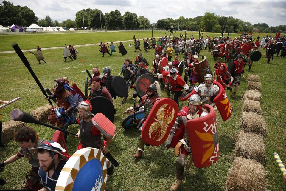 'Ragnarok' event reenacts mythic battle
