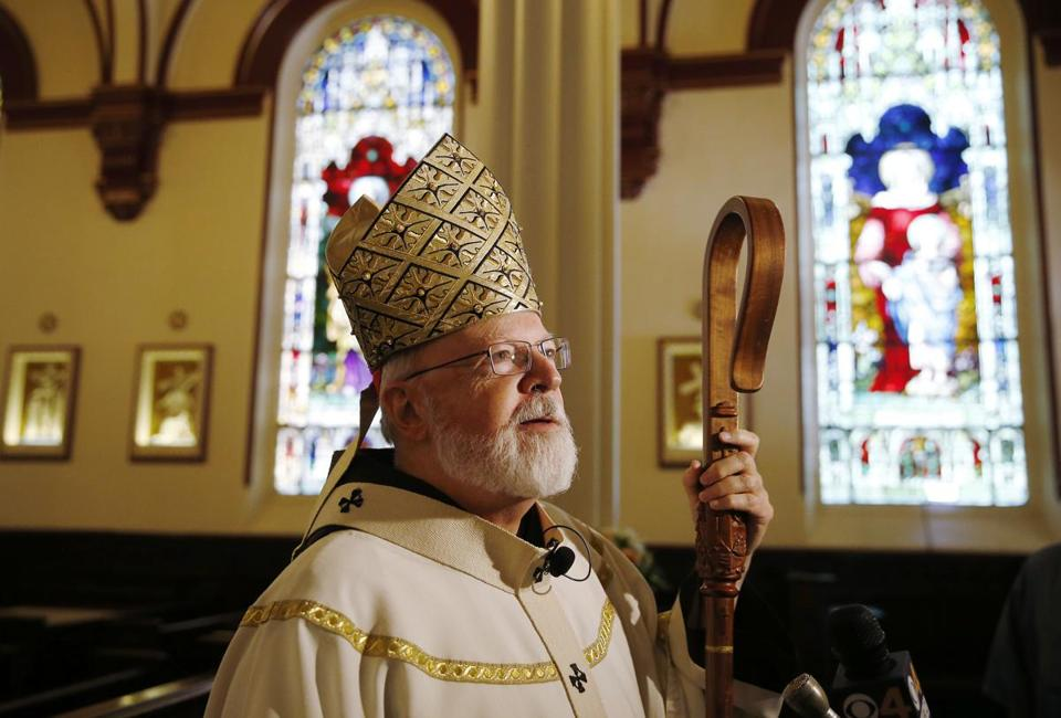 Cardinal Sean P. O'Malley praised the actions of Boston police at Saturday's events.