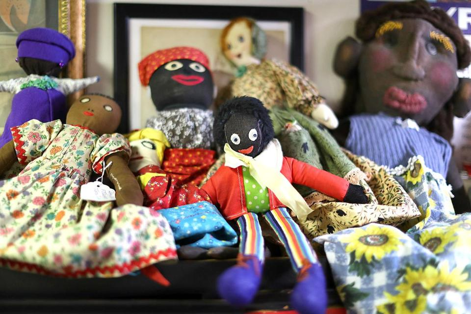 Mansfield-8/23/17 The National Black Doll Museum is in Mansfield with over 6,000 dolls of color. A group of rag dolls. John Tlumacki/Globe Staff(south)