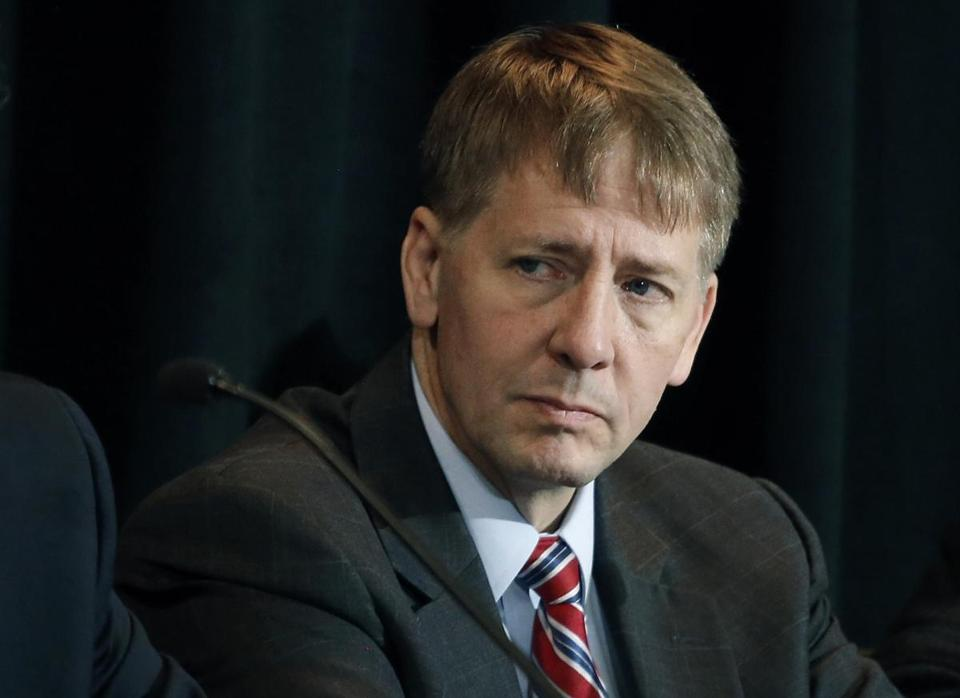 Richard Cordray heads the Consumer Financial Protection Bureau, whose new rule limiting arbitration clauses in consumer contracts is under attack from Republicans in Congress.