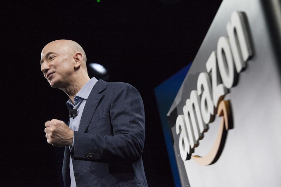 Amazon founder and CEO Jeff Bezos on June 18, 2014 in Seattle.