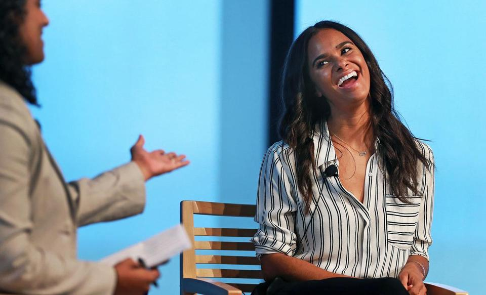 Misty Copeland at the JFK Library Monday.