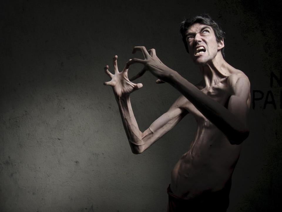 "Javier Botet has had roles as monsters in horror movies such as ""Crimson Peak"" and ""The Conjuring 2."""