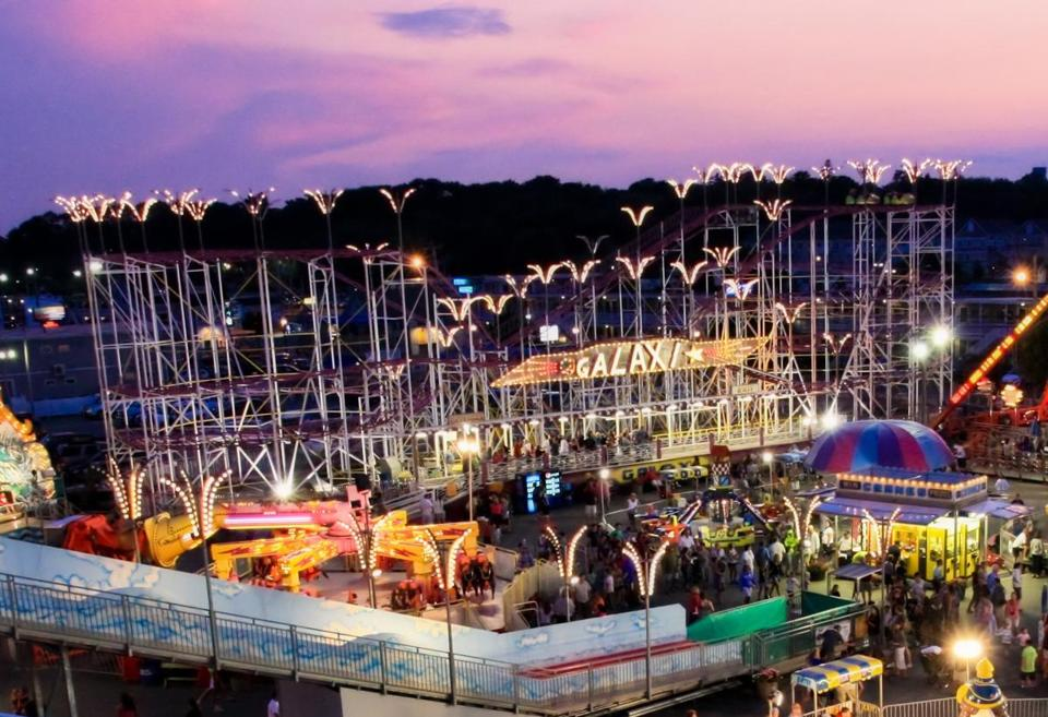 Last ride for Old Orchard Beach\'s Galaxi roller coaster - The ...