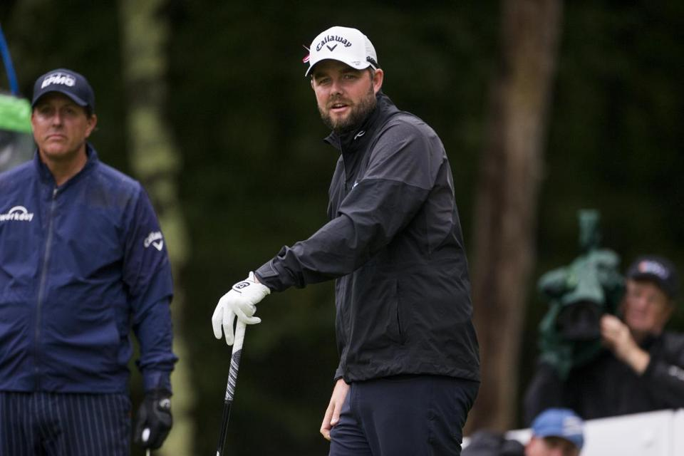 Marc Leishman shot a bogey-free 66 in the third round.