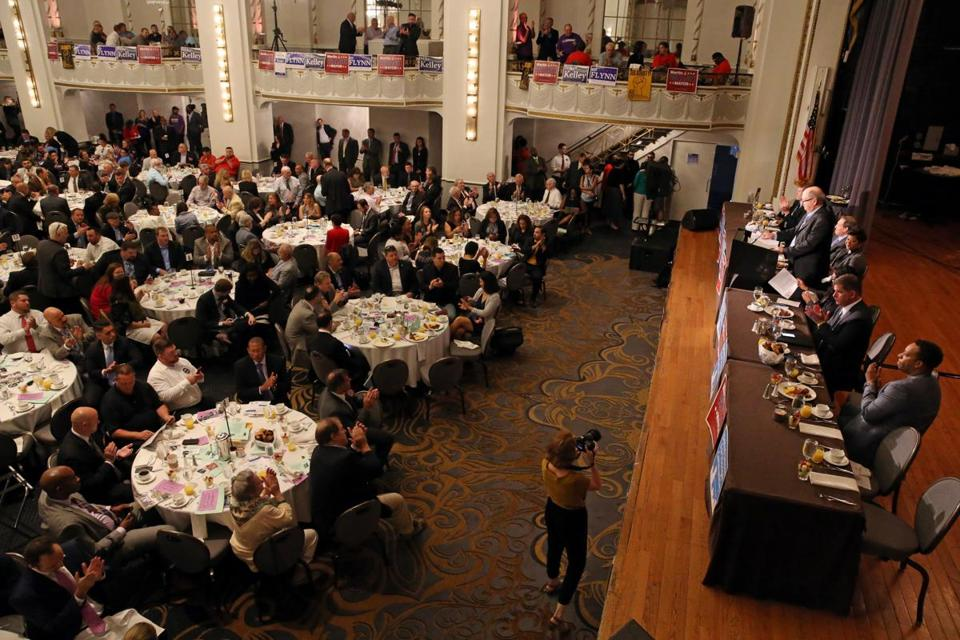 The Greater Boston Labor Council's event has traditionally been a way to kick off a political campaign, attracting candidates for City Council and governor.