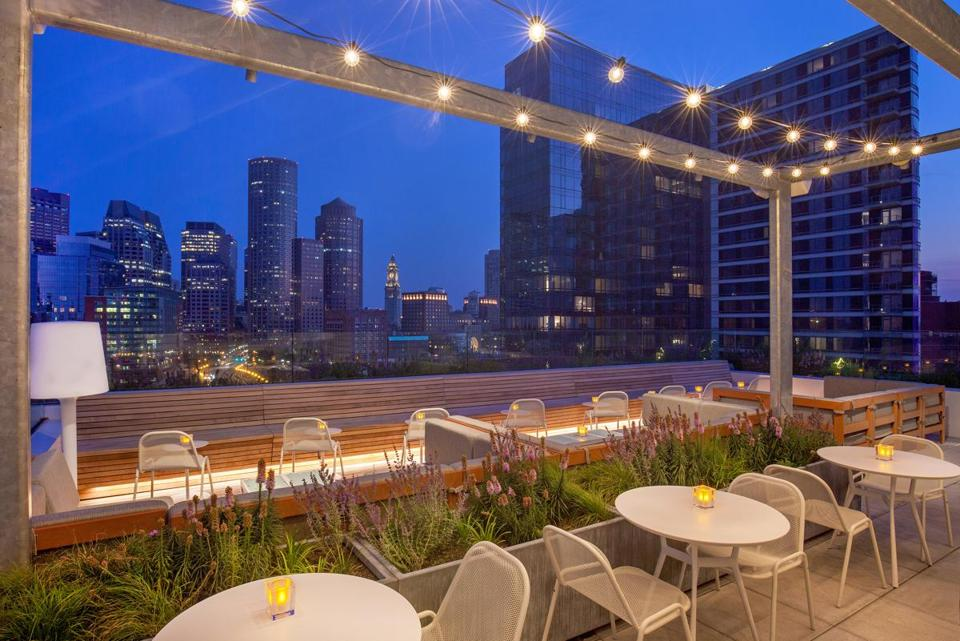 Yotel In The Seaport District Has Opened Its Sky Lounge Rooftop And Terrace  Amid The Warm
