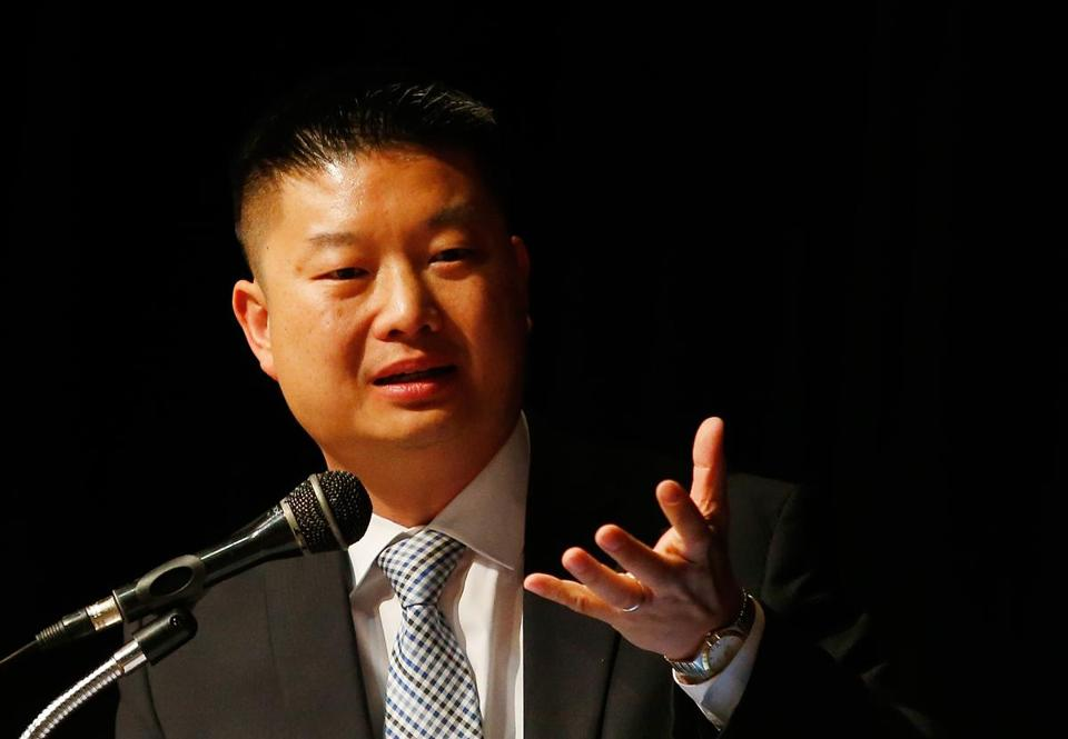 The Boston School Committee wants answers after Superintendent Tommy Chang (above) witheld critical findings from an IRS audit for at least five months.