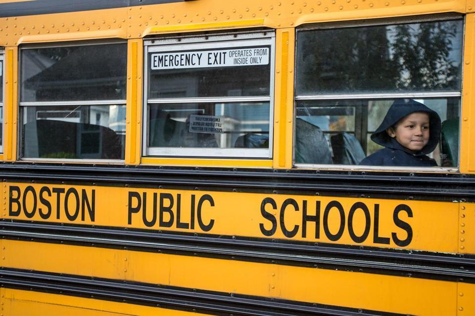 Far more Boston school buses arrived on time Friday morning on the second day of classes, bringing performance back in line with the previous school year.