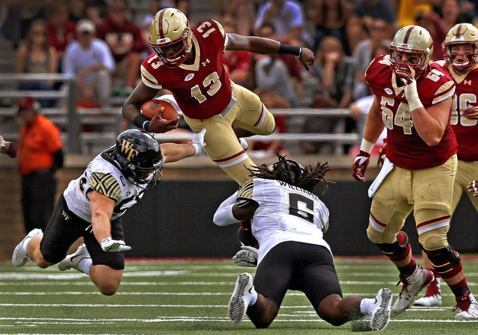 College football  Boston College doesn t like what it sees in Wake ... b502dfe74