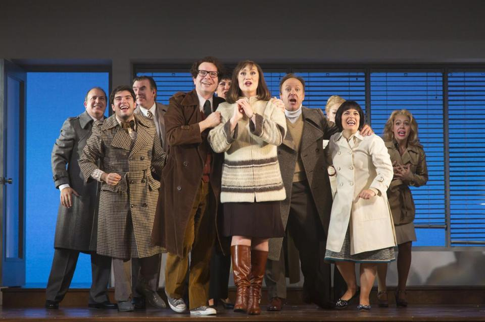 """Merrily We Roll Along"" runs through Oct. 15 at the Huntington Avenue Theatre."