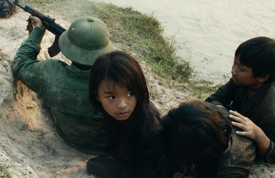 "A scene from ""First They Killed My Father,"" directed by Angelina Jolie."