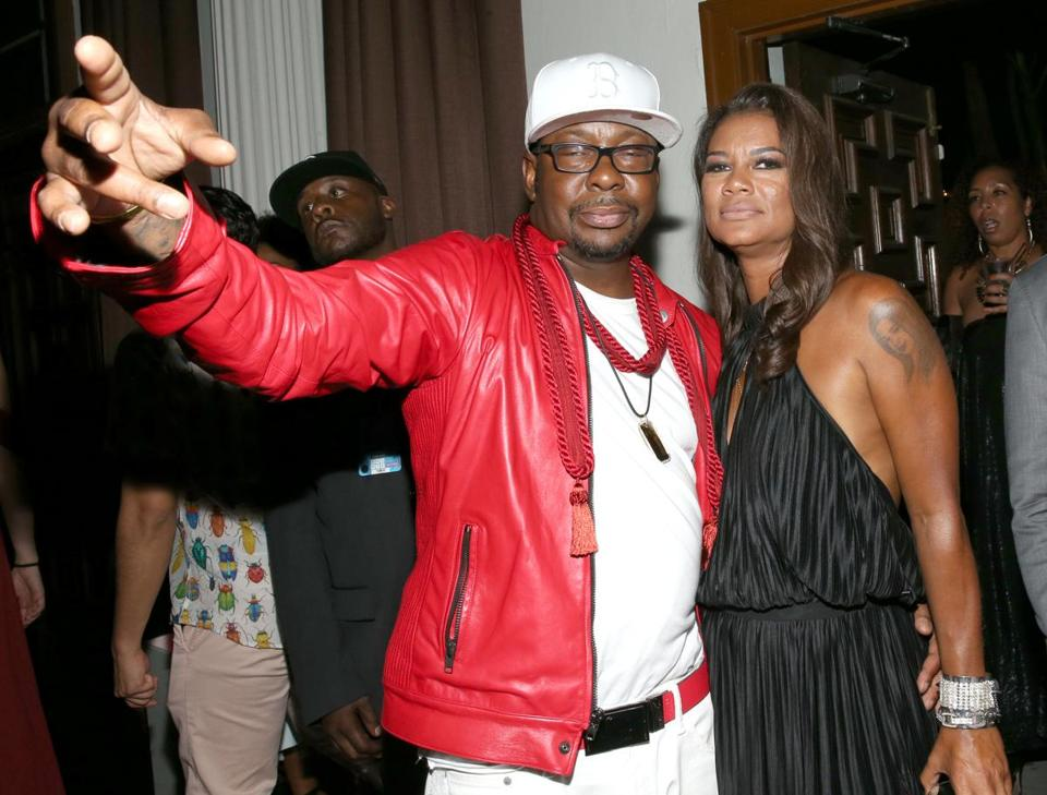 Bobby Brown and his wife, Alicia Etheredge, in June.