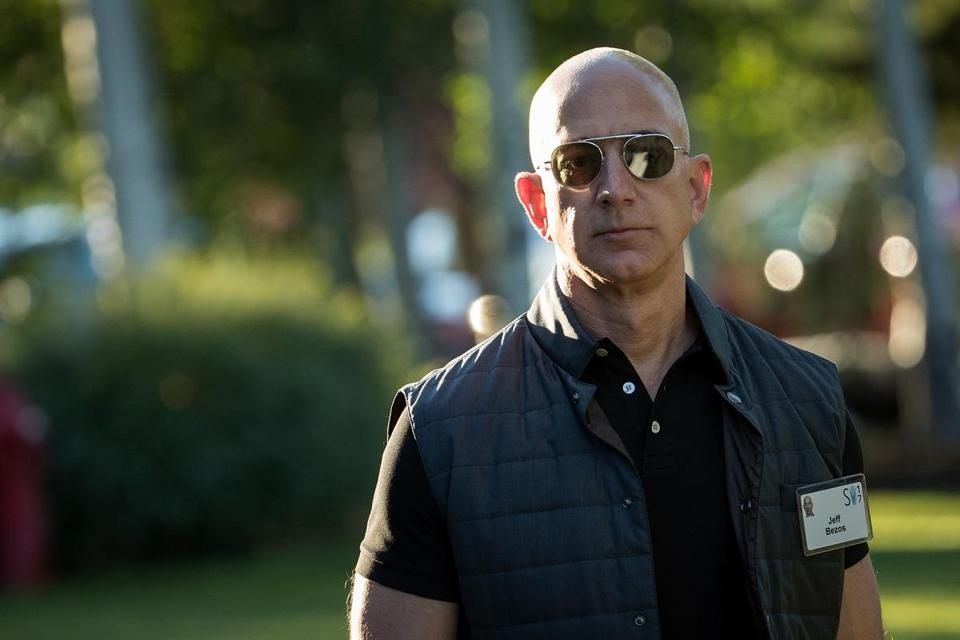 Amazon chief executive and founder Jeff Bezos is considering whether Boston should host Amazon's second North American headquarters.