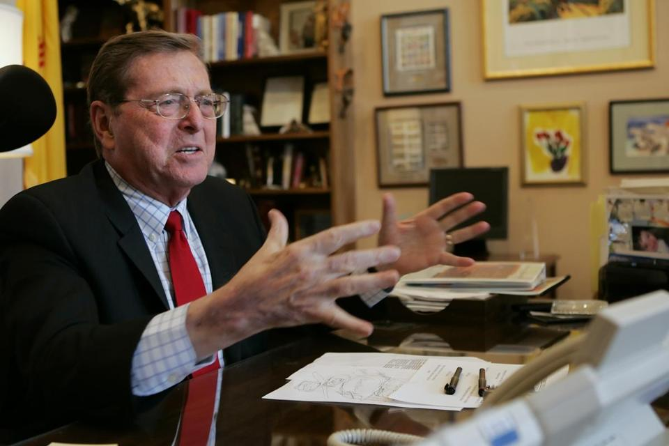 Pete Domenici represented New Mexico for six terms in the Senate.