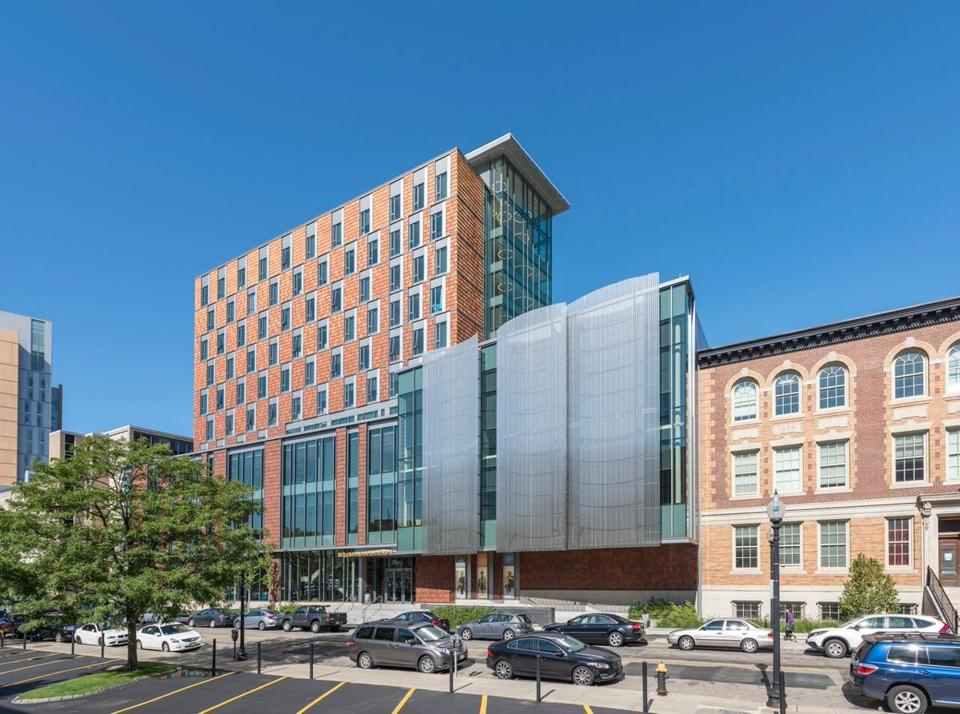New England Conservatory Student Life and Performance Center.