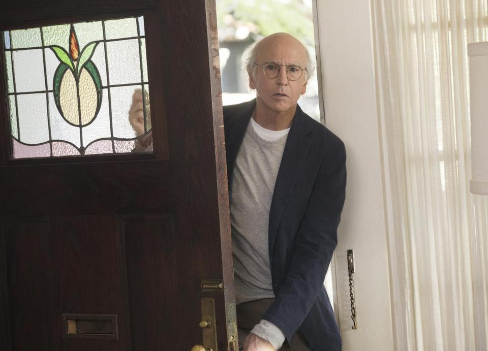"Larry David's ""Curb Your Enthusiasm"" returns to HBO on Sunday."