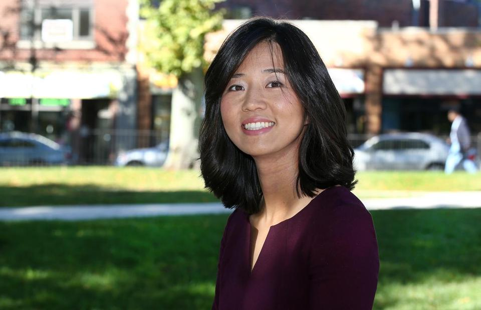 Michelle Wu just completed a term as Boston City Council president.