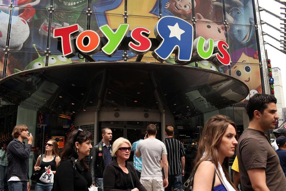 Toys R Us Inc. filed for Chapter 11 bankruptcy on Monday.