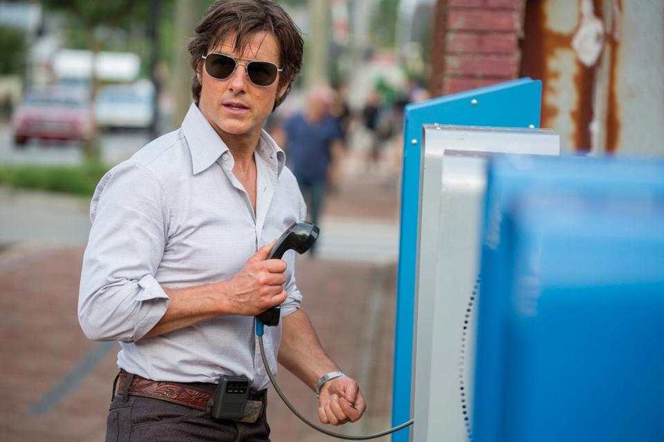 "Tom Cruise in ""American Made."""