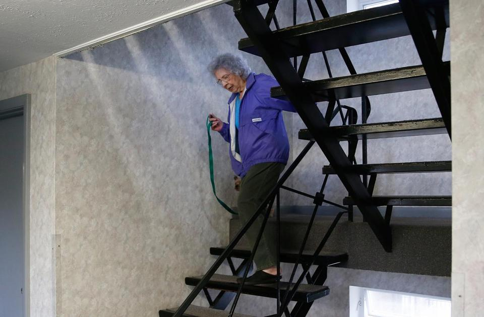 Doris Toohey, 85, Walked Down The Stairs At Her Condo In Brighton With Her