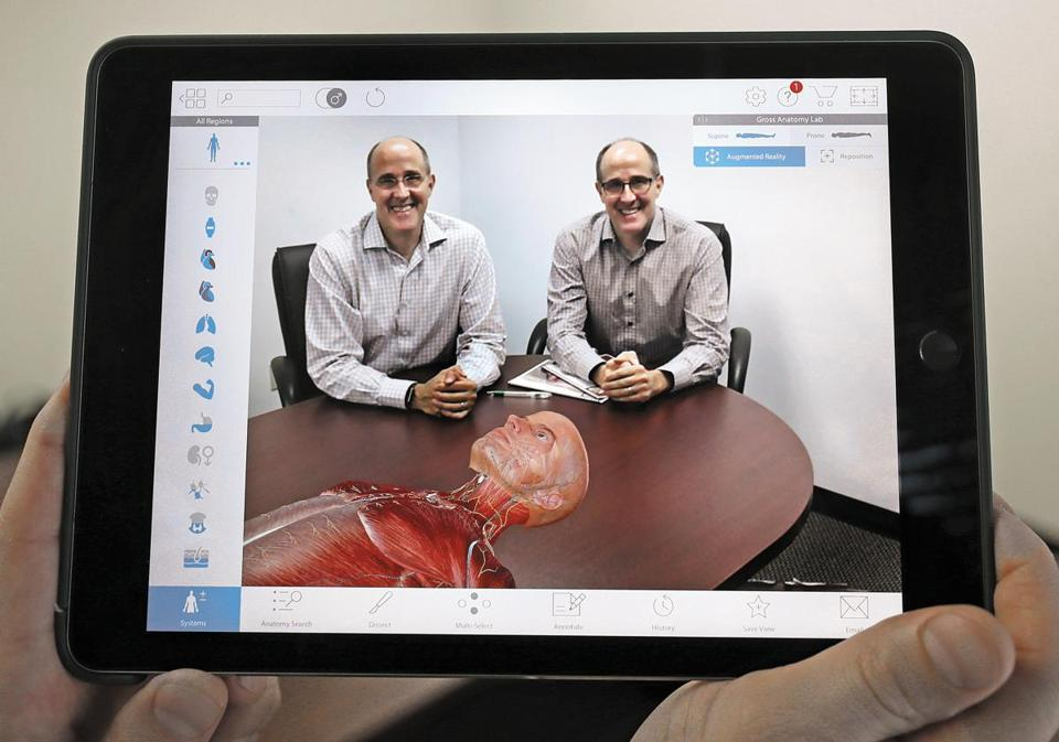 Visible Body's software allows users to explore highly detailed visualizations of human anatomy, often for use in medical education. Now the company is using Apple technology to enhance its products with augmented reality.
