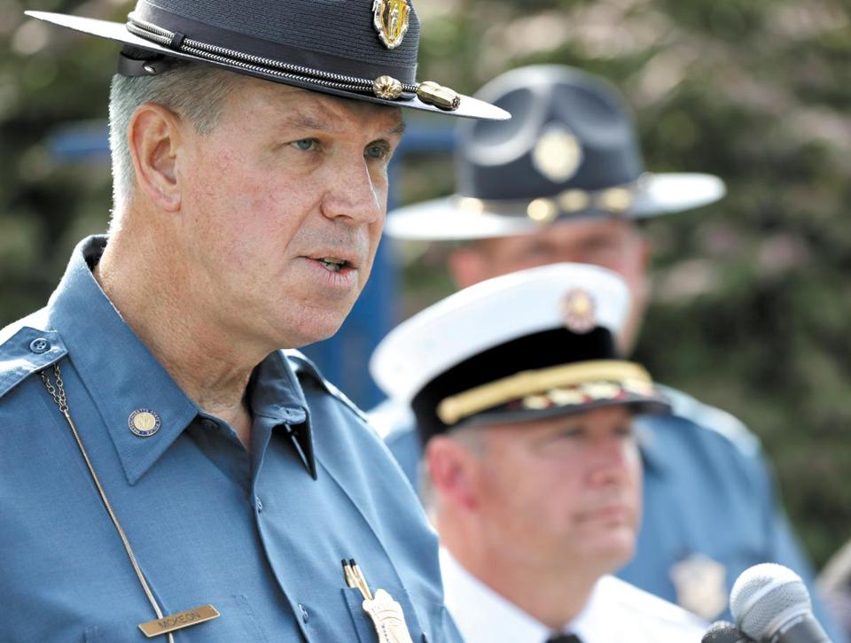 Read the letter from the State Police chief retiring amid