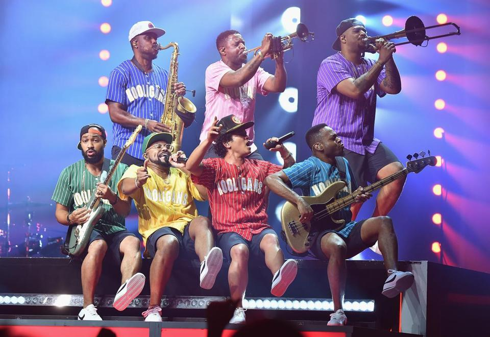 Bruno Mars plays TD Garden Oct. 7 and 8.
