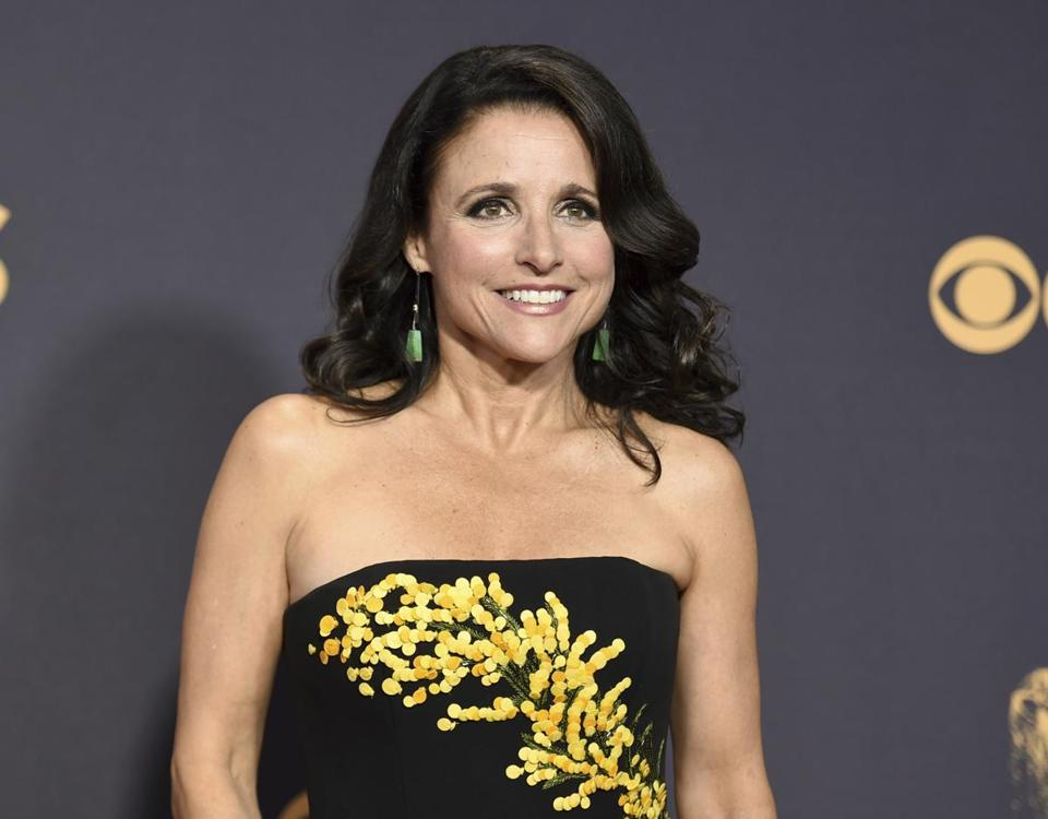 Julia Louis-Dreyfus at this year's Primetime Emmy Awards in Los Angeles earlier this month.
