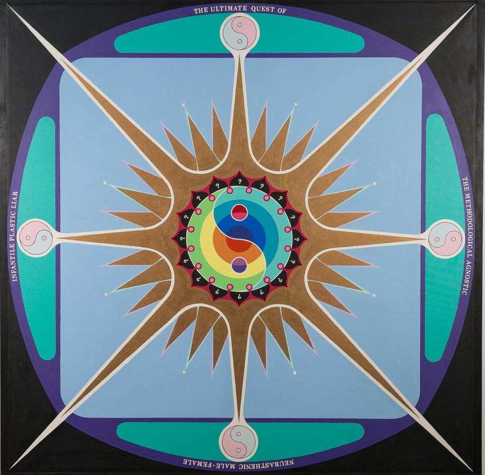 "Paul Laffoley's ""The Ultimate Quest"" at the deCordova."