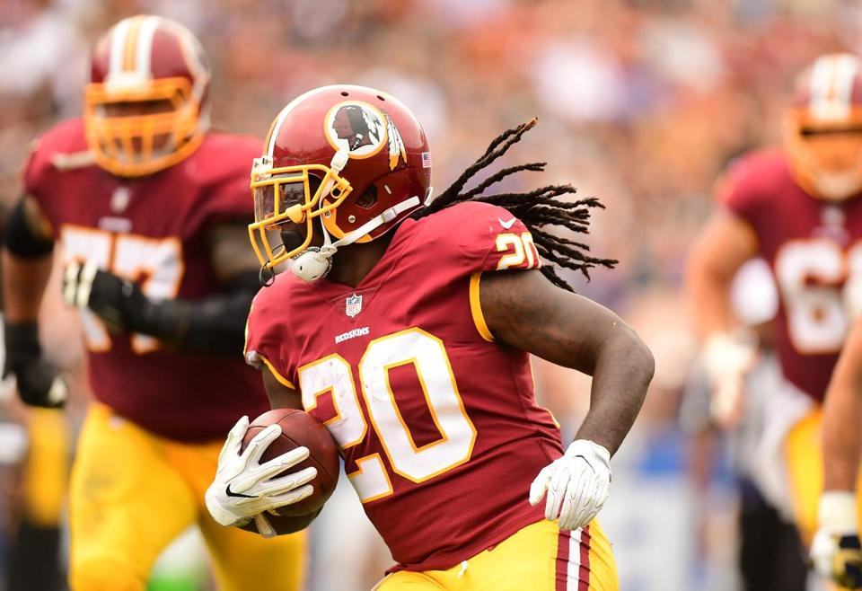 Washington Redskins running back Rob Kelley.