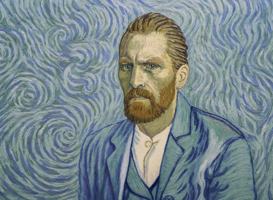 "Vincent (depicted by Robert Gulaczyk) in ""Loving Vincent."""