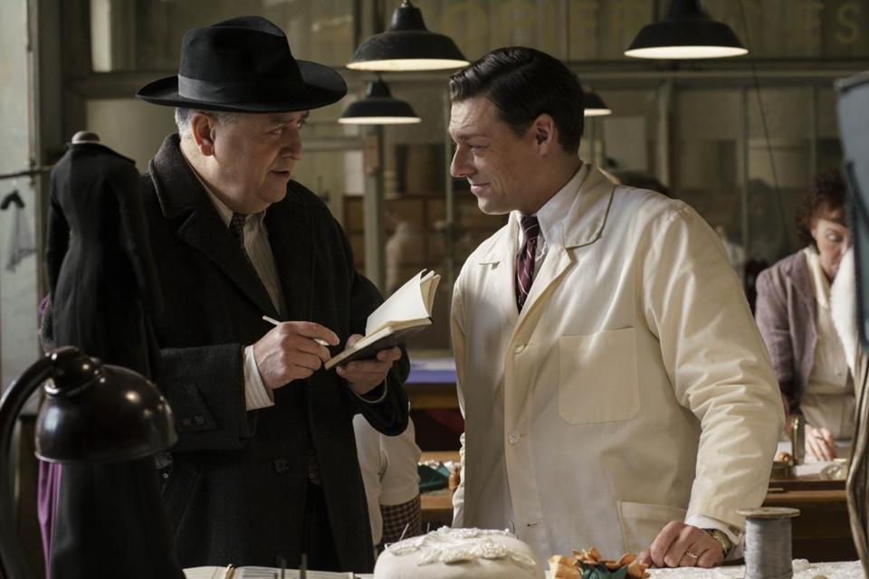 "Stanley Townsend (left) and Richard Coyle in ""The Collection."""