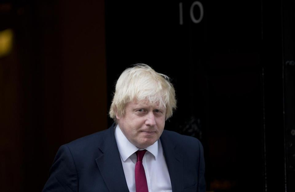 British Foreign Secretary Boris Johnson said he fully supports Prime Minister Theresa May's Brexit strategy.