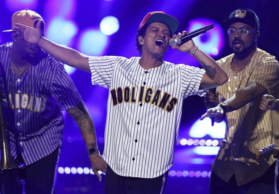 Bruno Mars plays TD Garden Saturday and Sunday.