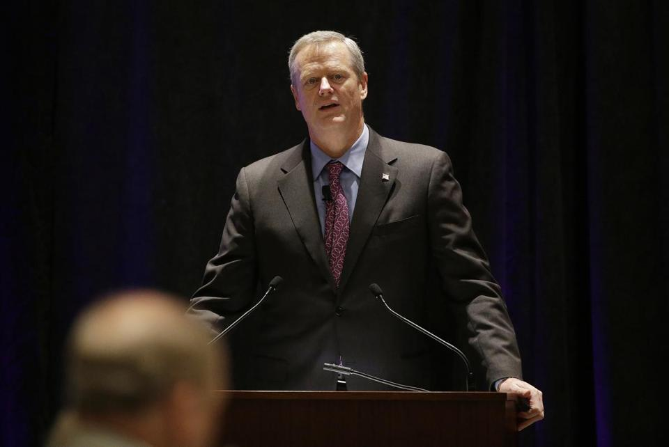 "Governor Charlie Baker opened a session called ""Curbing the Opioid Epidemic"" on the first day of the National Governors Association meeting July 13 in Providence."