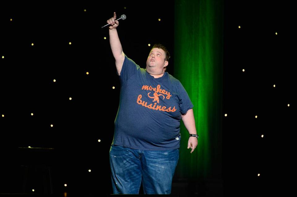 FILE- OCTOBER 06: Comedian Ralphie May dies at 45 years old of cardiac arrest. LOS ANGELES, CA - APRIL 04: Comedian Ralphie May performs at KROQ Presents Kevin & Bean's April Foolishness at The Shrine Auditorium on April 4, 2015 in Los Angeles, California. (Photo by Frazer Harrison/Getty Images)