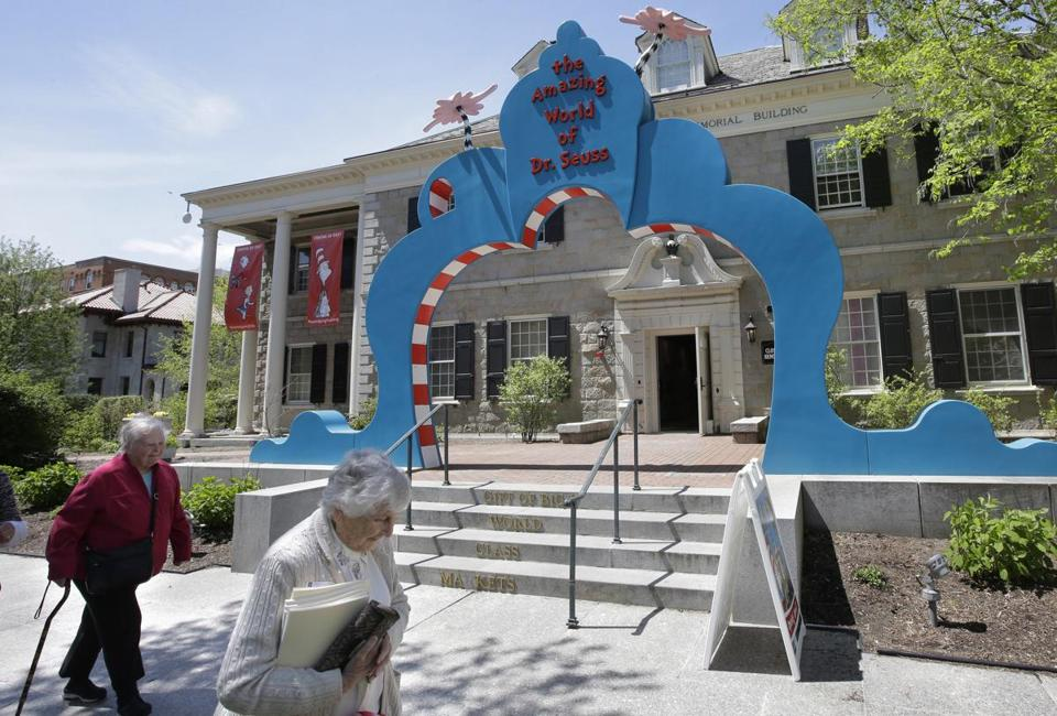 The Amazing World of Dr. Seuss Museum opened in Springfield earlier this year.