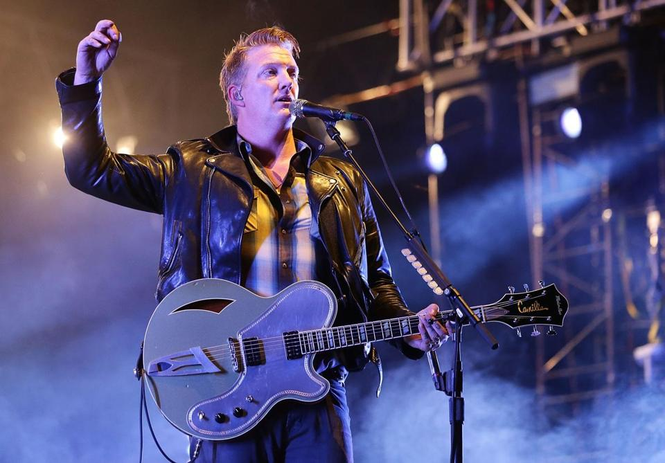 Josh Homme and Queens of The Stone Age play Agganis Arena Oct. 21.