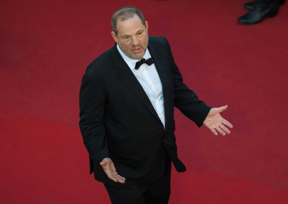 Producer Harvey Weinstein in 2015 at the 68th Cannes Film Festival.